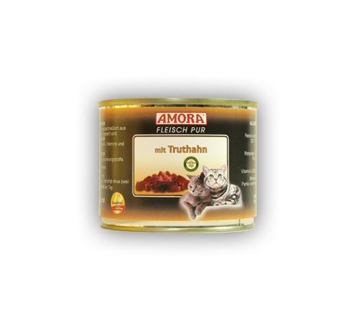 Amora Консервы для кошек - индейка 200г