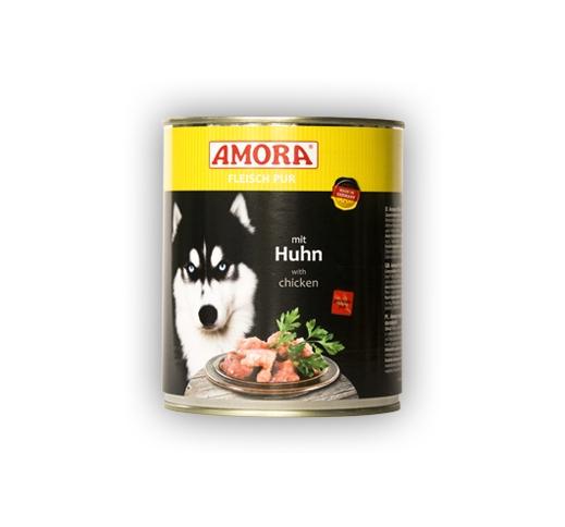 Amora консервы для собак - курица 800г
