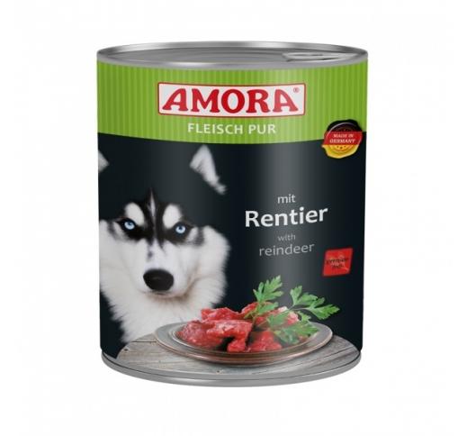 Amora Canned Dog Food (Reindeer) 800g