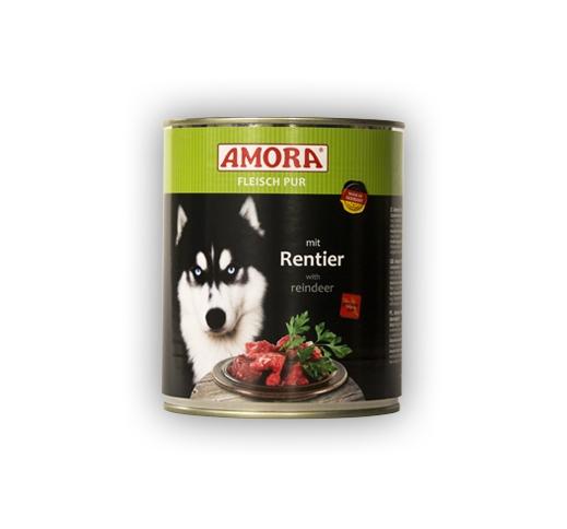 Amora консервы для собак - лось 800г