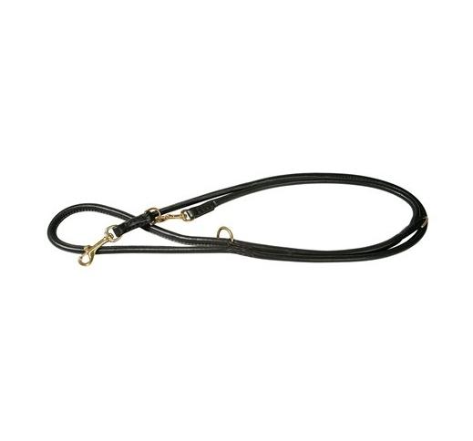 Klin Adjustable Leather Leash 8mm x 220cm