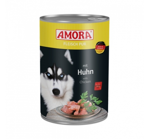 Amora Canned Dog Food (Chicken) 400g