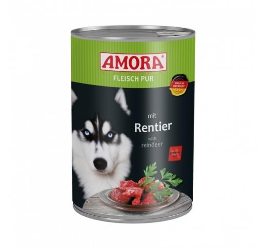 Amora консервы для собак - лось 400г