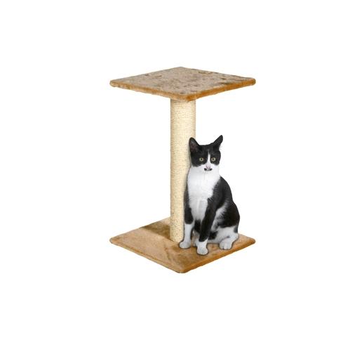 Cat Scratching Pole Scolette Beige 44x33x70cm