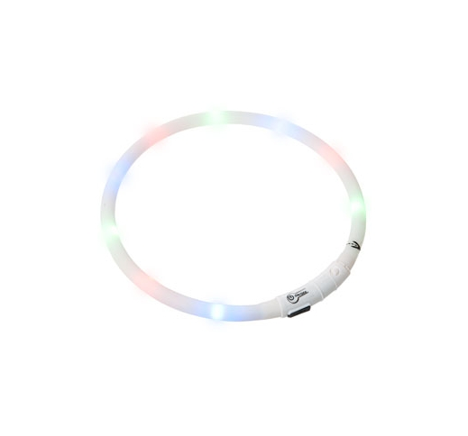 LED Collar Visio Light White 20-70cm