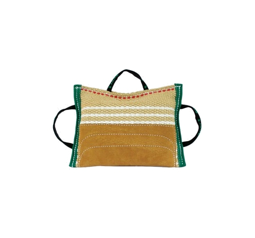 Klin Bite Pad Jute/Leather 35x25cm