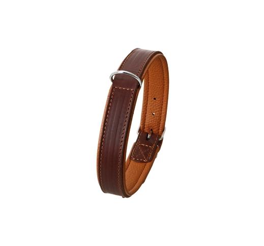 Collar Rondo Brown 27mm x 70cm