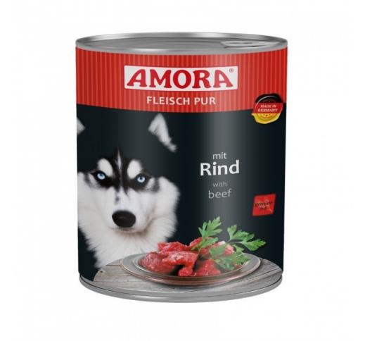 Amora консервы для собак - говядина 800г