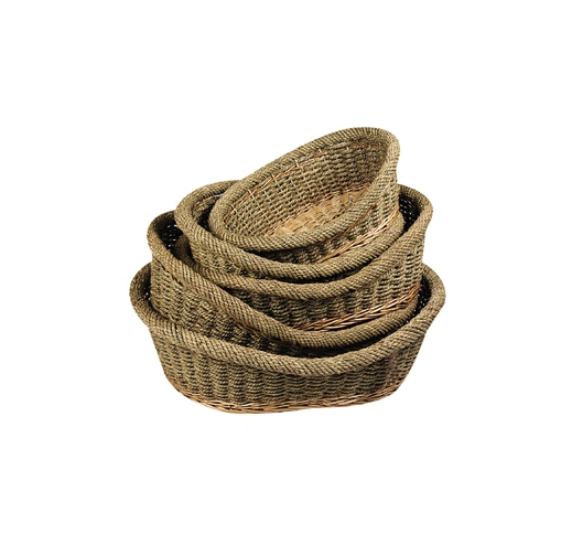 Wicker Dog Basket 83cm