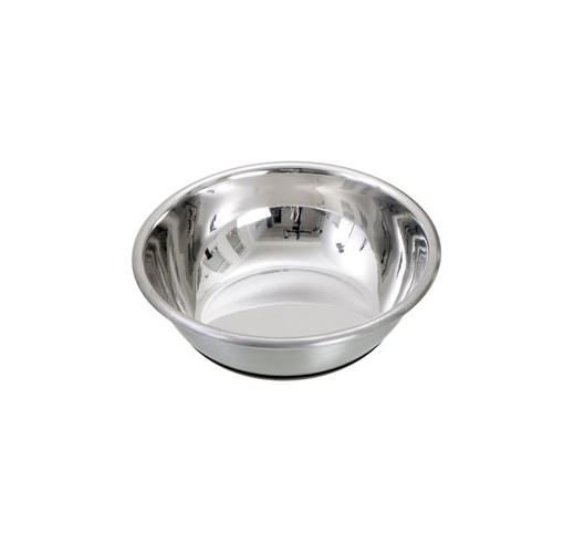 Cat Bowl Selecta Silver 12cm 250ml