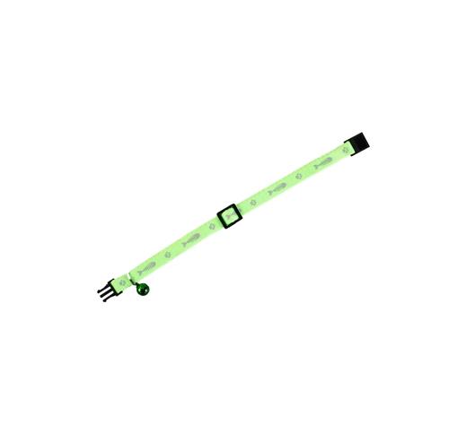 Ошейник для кошек Ziggi Green 30см x 10мм