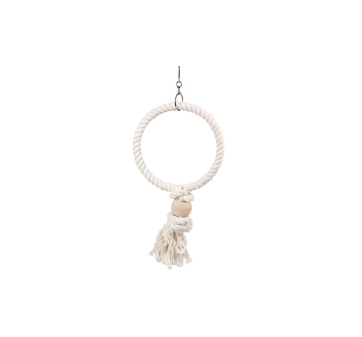 CAGE HANGER ROPE - RING - 24x5x40cm