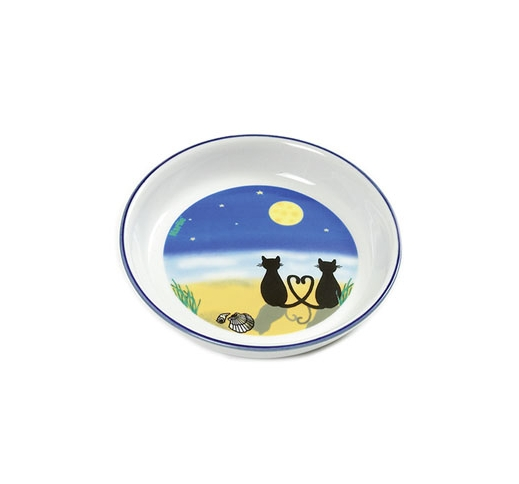 Ceramic Bowl Cat & Moon 200ml ⌀12cm