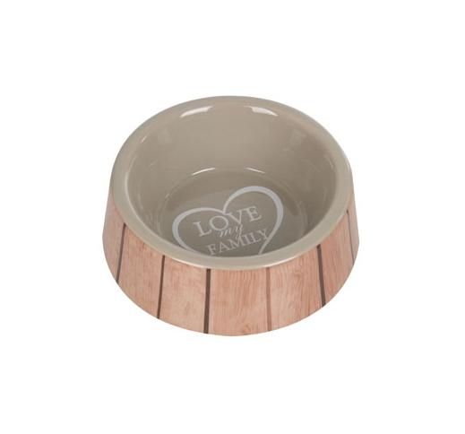 Ceramic Bowl Shabby Chic 14cm 400ml