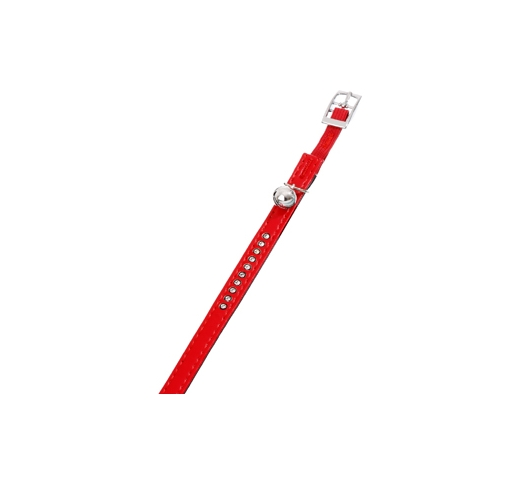 Cat Collar Monte Red 30cm x 11mm