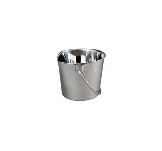 Bucket Stainless Steel with Carabiner 950ml