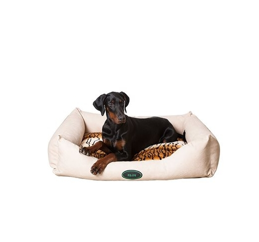 Klin Dog Bed Soft Leather 120x95cm