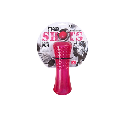 Dog Toy Shots Stick Extra Durable 20cm