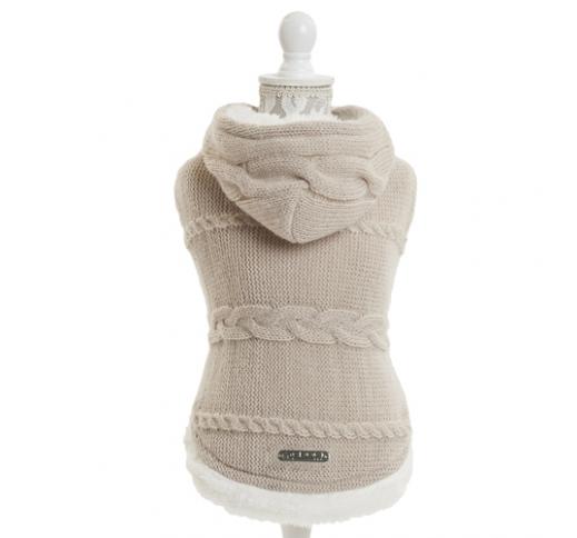 Sweater Tricot Beige 35cm
