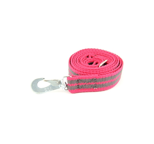 Leash Rubberized BGB Pink 1,5m x 25mm