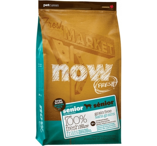 NOW Fresh Senior Large Breed Grain Free 11,3kg