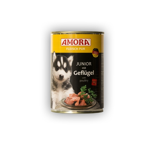 Amora Canned Puppy Food (Chicken) 400g