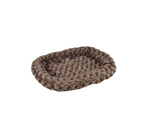Dog Bed Flat Cuddly Taupe 48x37cm