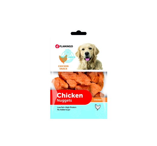 Freeze Dried Chicken Nuggets 70g