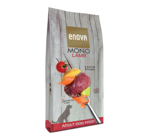 Enova MONO Lamb Complete Dog Food 12kg
