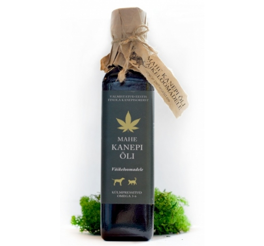 Organic Hemp Seed Oil for Small Animals 250ml