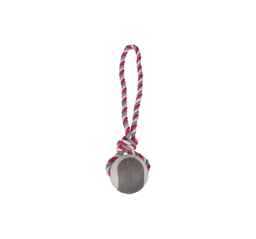 Tennisball with Rope 9,5/50cm