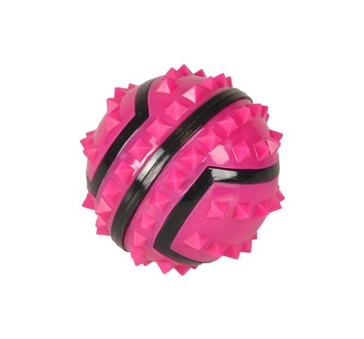 TPR Spiky Pink Ball 7cm