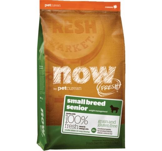 NOW Fresh Väikest tõugu seenior koerale (teraviljavaba täissööt) 2,72kg