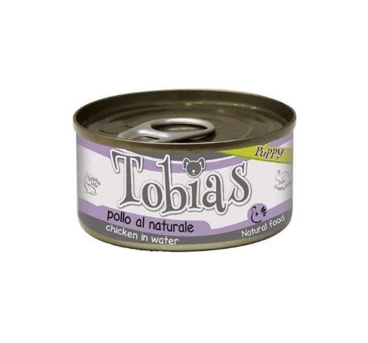 Tobias Canned Puppy Food Chicken in Water 85g