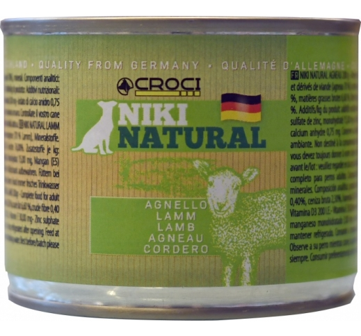Niki Natural Lamb 200g
