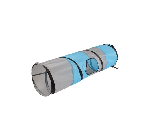 Cat Tunnel Linz Grey/Blue 90cm