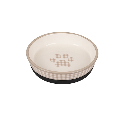 Ceramic Bowl Mylo Beige/White 14cm 220ml