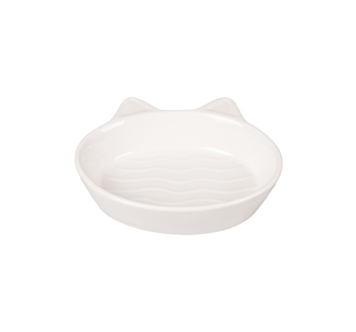 Ceramic Bowl Gizmo White 13cm 170ml