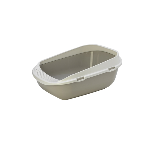 Cat toilet Carfy Grey 48x65x29,5cm