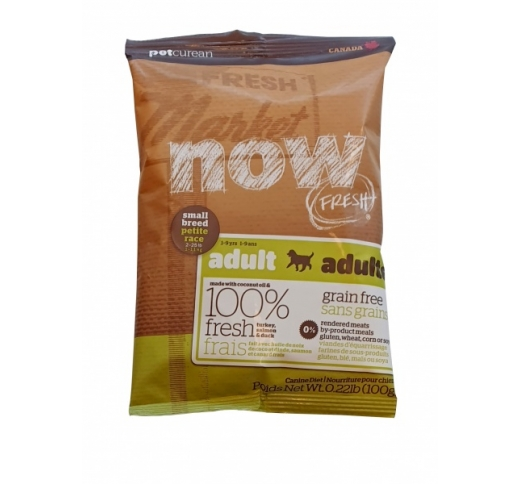 Tester Now Fresh Grain free Recipe for Small Dogs 100g