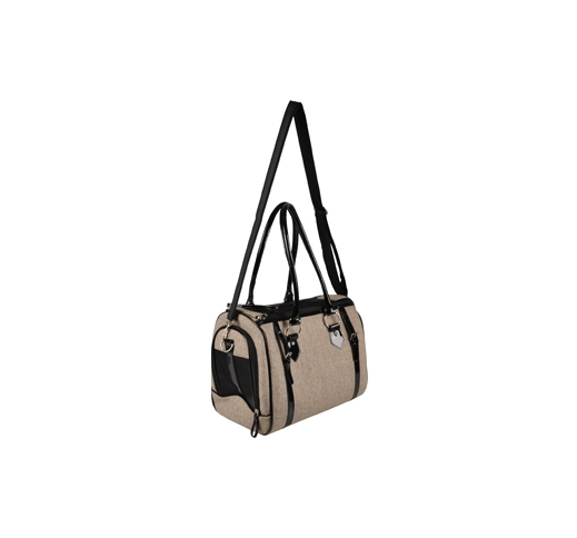 Carrying Bag Cilou Brown 38x24x31cm
