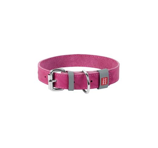 Waudog Classic Collar 25mm x 38-49cm Pink