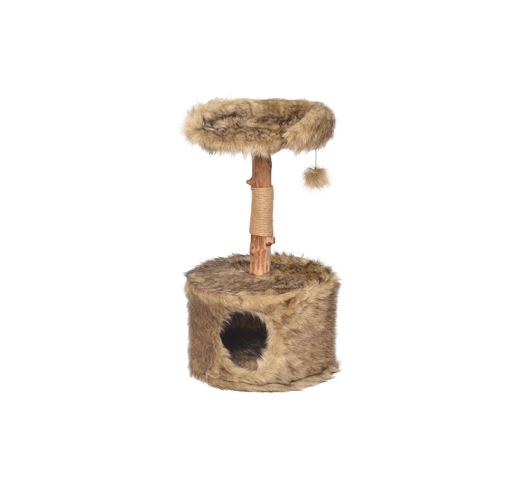 Cat Scratching Tree Betula 45x45x81cm