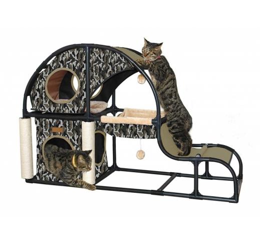 Cat Activity House Parkour 122x40,6x81,3cm