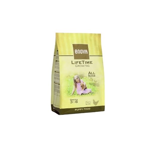Enova Lifetime Growing Puppy Food 2kg