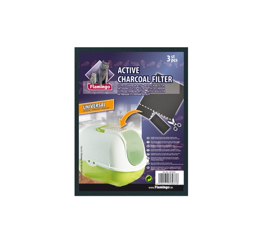 Minnie Active Charcoal Filters 15,4x19,6cm, 3pcs