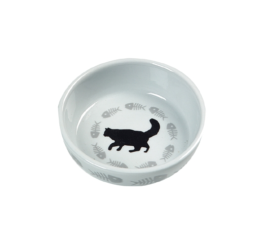 Ceramic Bowl Cats ⌀12cm