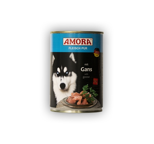 Amora Canned Dog Food (Goose) 400g