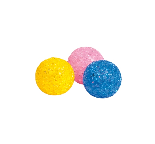 Cat Toy Glitter Ball 3,75cm