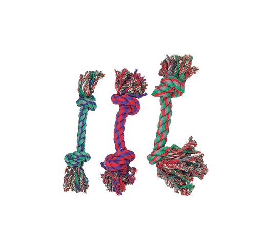 Cotton Mini Knot 3pcs 14cm